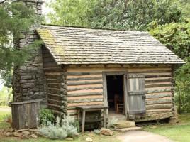 Burritt Museum - Small Cabin ca 1850