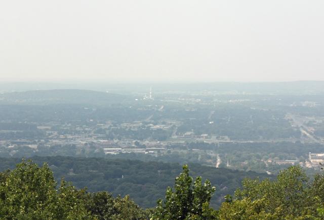 Burritt Museum - View of Huntsville