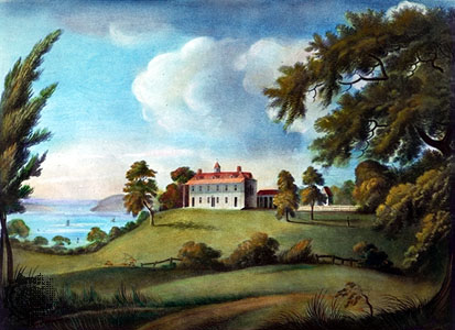 Mount Vernon, Painting by Francis Jukes