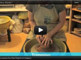 Pottery Lesson Plan YouTube Video Capture