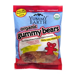 Yummy Earth Organic Gummy Bears Giveaways