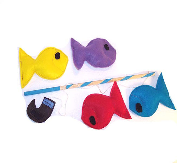 Felt Fishing Game from Sapucha
