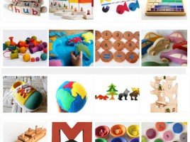 Montessori Educational Toys Treasury