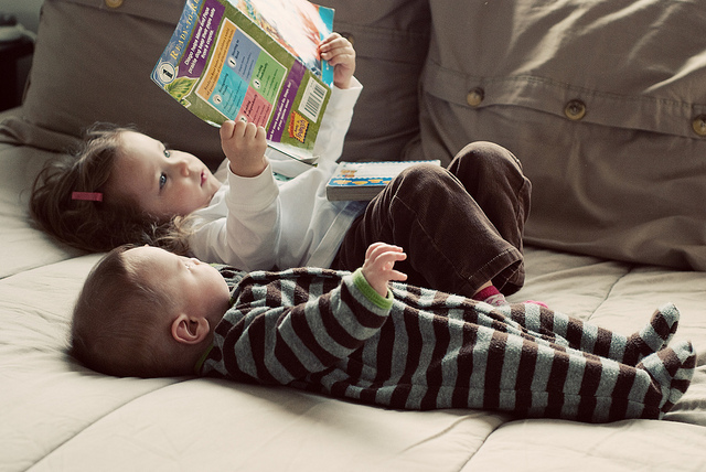 Children Reading by ThomasLife on Flickr