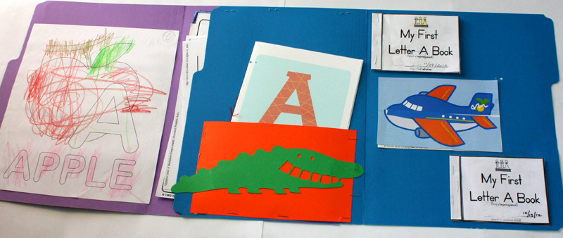 Letter A Lapbook Inside All