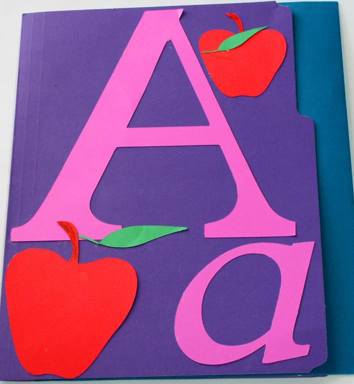 Letter A Lapbook