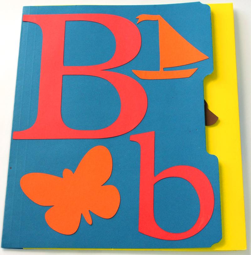 Letter B Lapbook