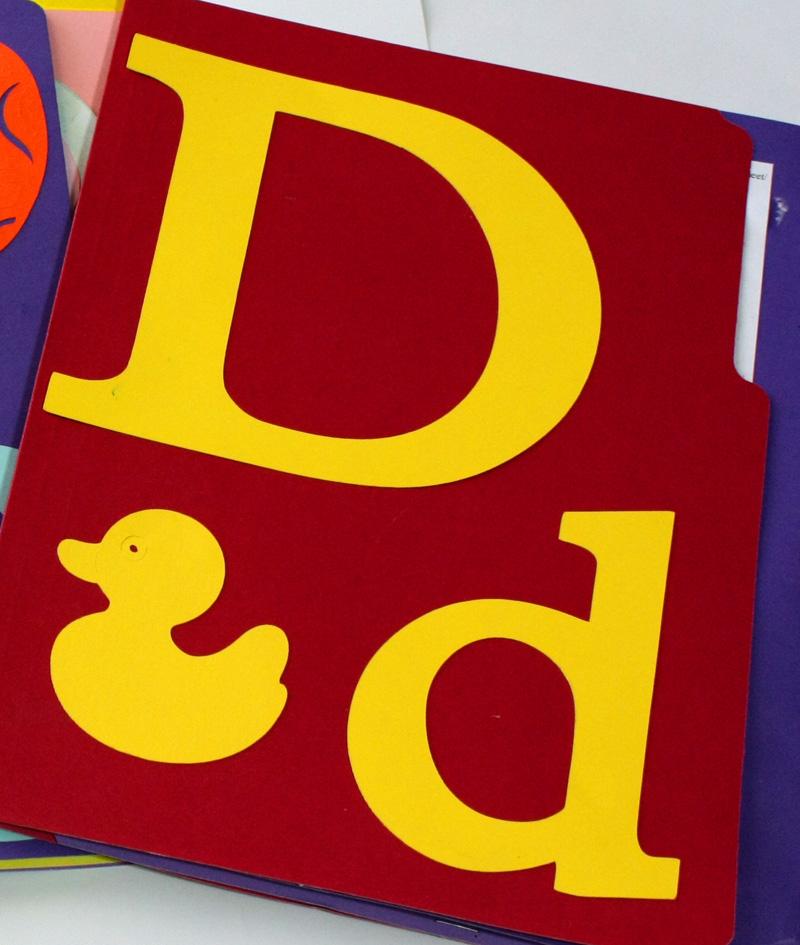 Letter D Lapbook