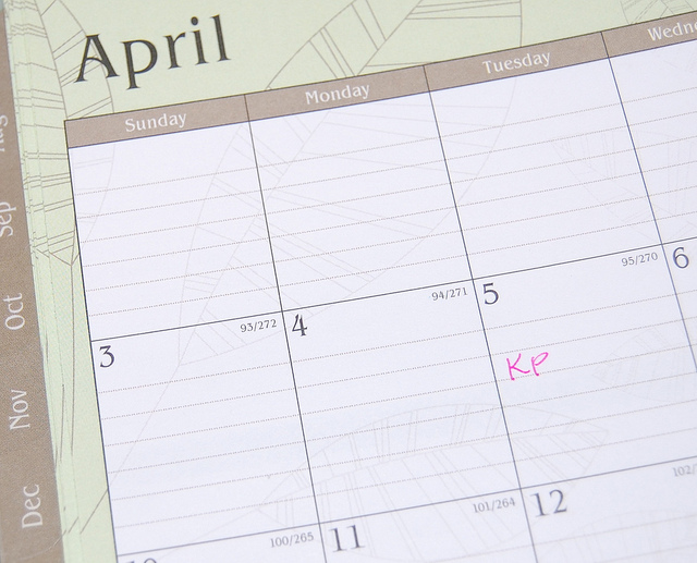 April Calendar by cathyse97 on flickr