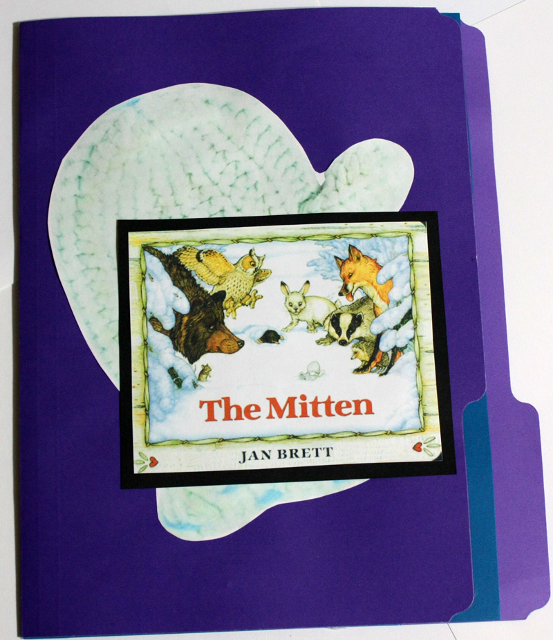 Mitten Lapbook Cover