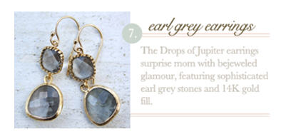Earl Grey Earrings
