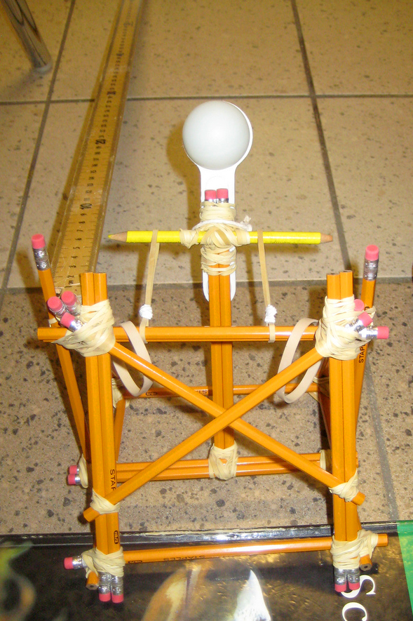 Pencil Catapult by gwhisen on flickr