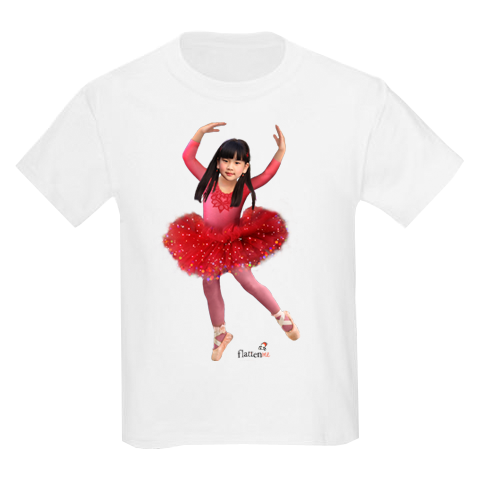 Flattenme ballerina_tshirt_sample
