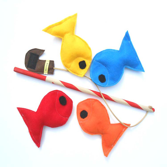 Sapucha Felt Fishing Game