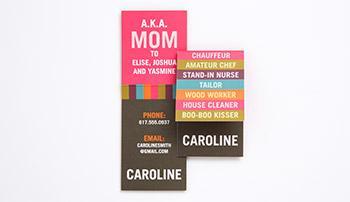 Tiny Prints Mommy Card TPBTS4