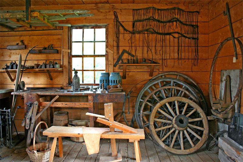 Carpenter's Shop by Gunnshots