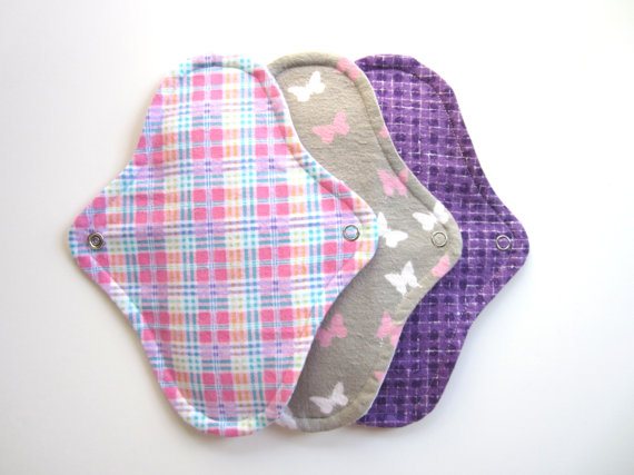 Mama D's Closet Sample Cloth Pad Pack