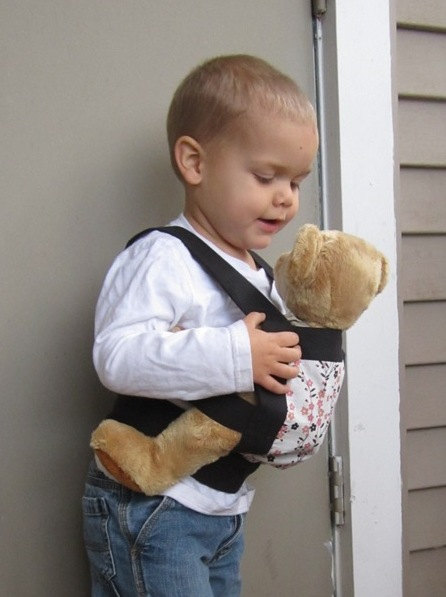 Mama D's Closet Toddler Toy and Doll Carrier