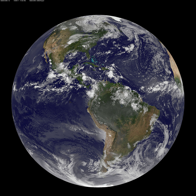 Earth by NASA Goddard Photo and Video on flickr
