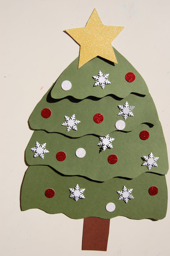 Little Hands Crafts Christmas Tree 2