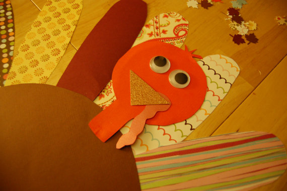 Little Hands Crafts Paper Turkey Craft