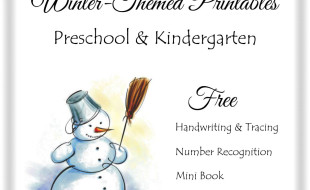 Winter Free Printables Button