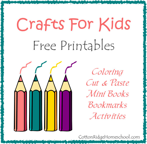 crafts for kids coloring mini books bookmarks and more free printables - Free Preschool Printable Books