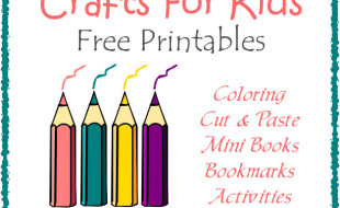 Crafts and Activities Printables Button Feature