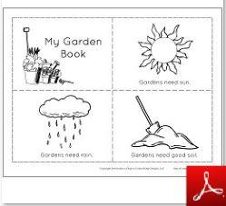 Garden Mini Book