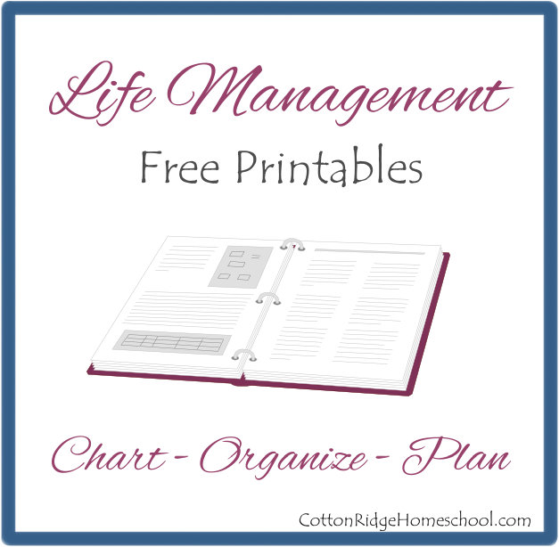 Life Management Free Printables Button