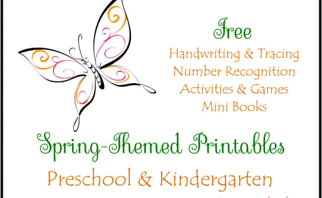 Spring Printables Button Feature