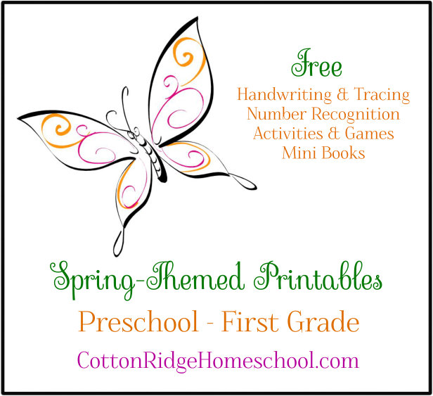 Spring-Themed Educational Activities For Kids (Free Printables)