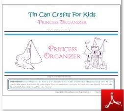 Tin Can Craft Royal Organizer