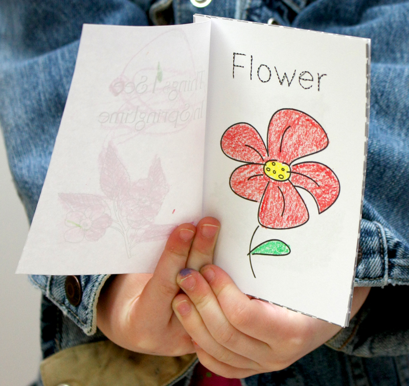 Springtime Printable Book