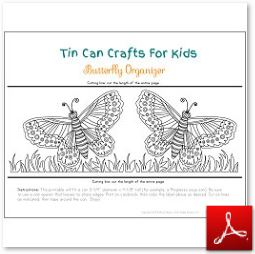 Tin Can Craft butterfly Organizer 2 OK