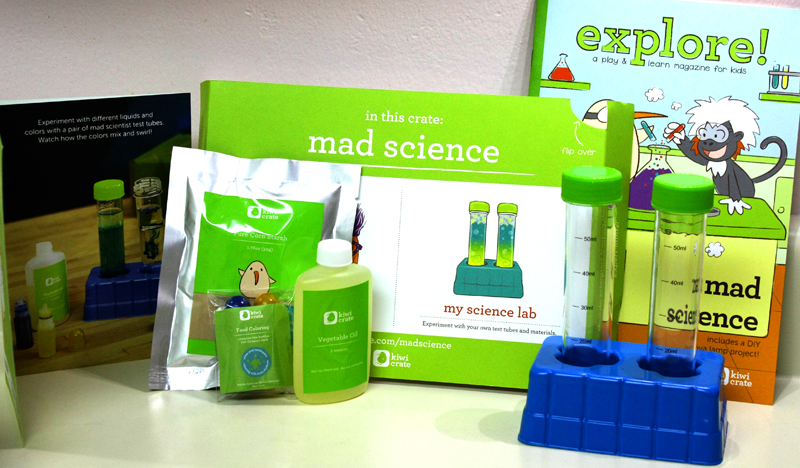 the mad scientist kit instructions