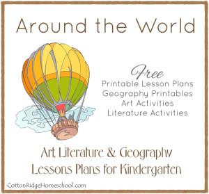 Around the World in 28 Weeks Kindergarten