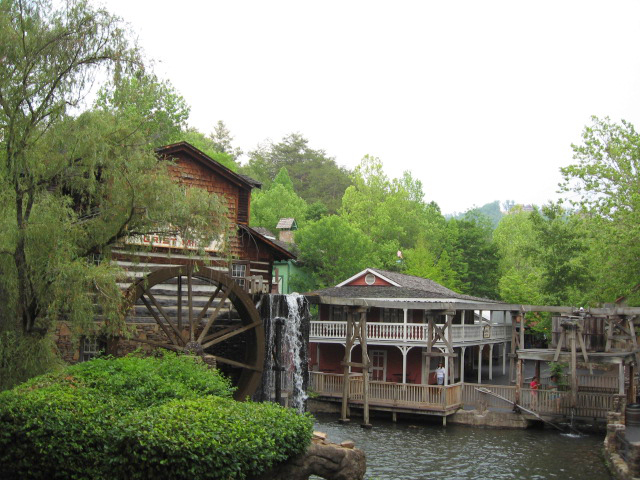 Dollywood Grist Mill Area