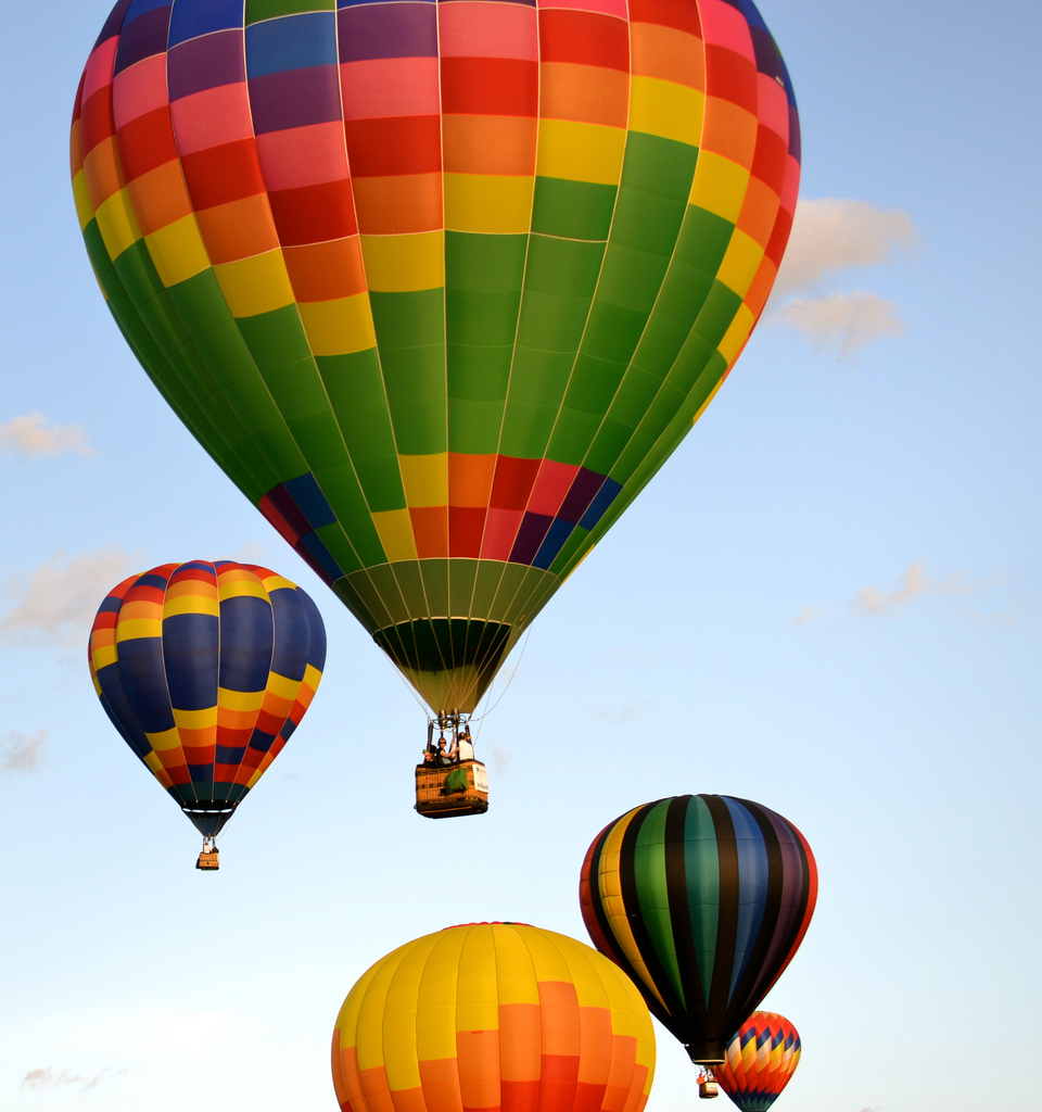 Hot Air Balloons by Karen Cox on flickr