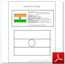 India Facts and Flag