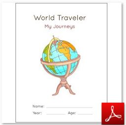World Traveler Notebook Cover Page Color