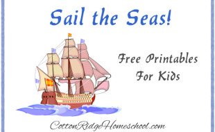Sail the Seas Printables Button CRH Feature