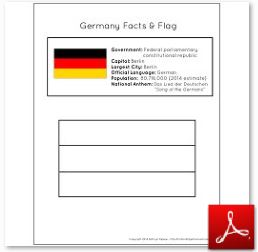 Germany Facts and Flag