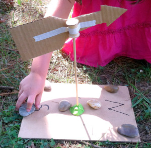 Wind Experiment Home Made Weather Vane