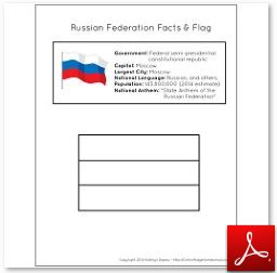 Russia Facts and Flag