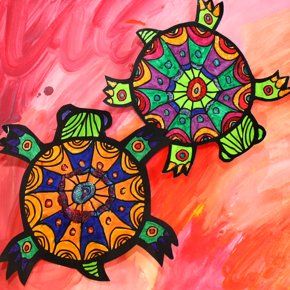 Animal Art Turtles