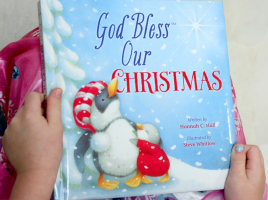 God Bless Our Christmas Book