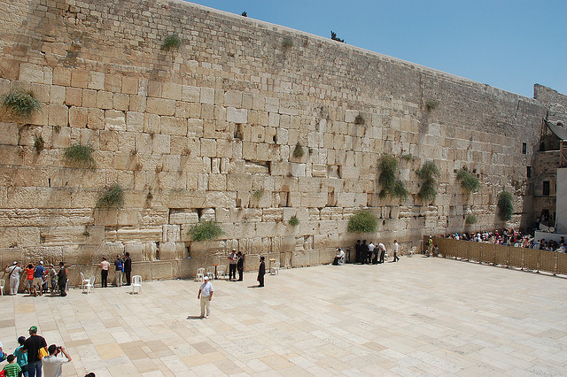 Western Wall Plaza Jerusalem Israel by David King on flickr