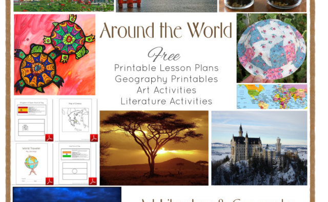 Around The World in 28 Weeks Lesson Plans For Preschool Through First Grade