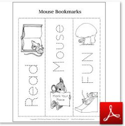 Mouse Bookmarks